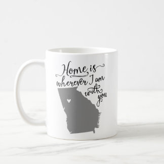 Home Is Wherever I Am With You {Atlanta, GA} Mugs
