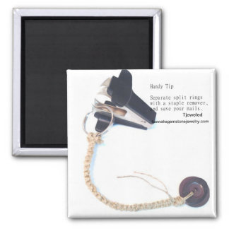 Home Jewelry Tip - Open a Keyring Magnet
