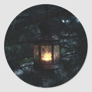 Home Light Classic Round Sticker