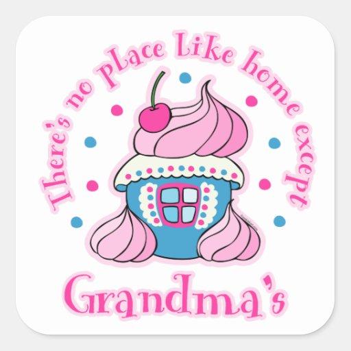 Home Like Grandma's Sticker