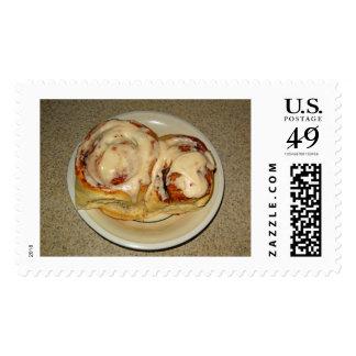 Home Made Cinnamon Rolls Postage Stamp