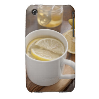 home made cold and flu remedy; lemons and honey iPhone 3 Case-Mate case