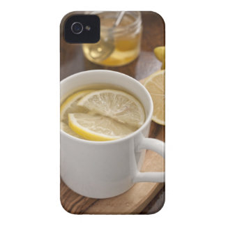 home made cold and flu remedy; lemons and honey iPhone 4 cover
