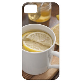 home made cold and flu remedy; lemons and honey iPhone 5 cover