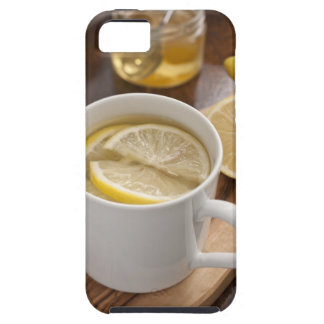 home made cold and flu remedy; lemons and honey iPhone SE/5/5s case