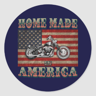 Home Made Round Stickers