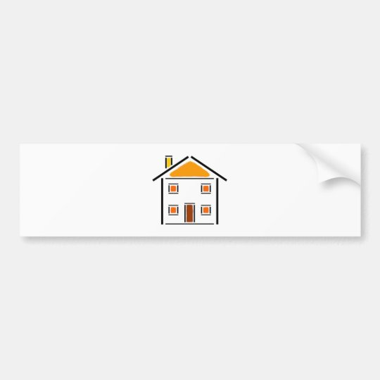Home - Maison Bumper Sticker