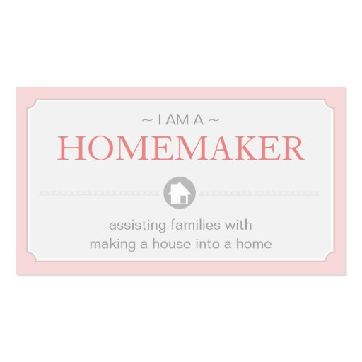 Home Maker Business Cards : Zazzle