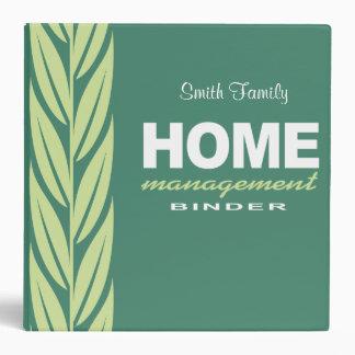Home management modern personalized binder