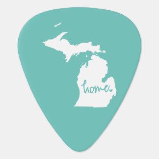 Home Michigan Custom Color Guitar Pick