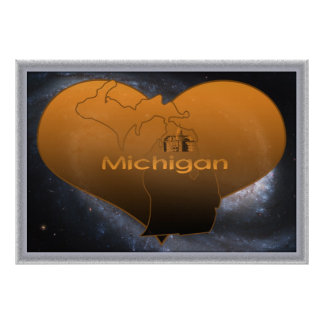 Home Michigan Poster