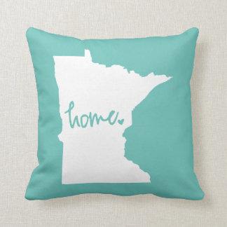 Home Minnesota Custom Color Pillow