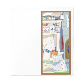 Home Mouse Cooking Notepad