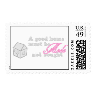 Home must be Made Postage Stamp