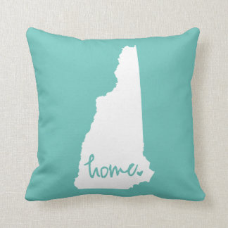 Home New Hampshire Custom Color Throw Pillow