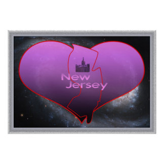 Home New Jersey Poster