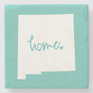 Home New Mexico Custom Color Stone Coaster