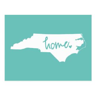 Home North Carolina Custom Color Postcard