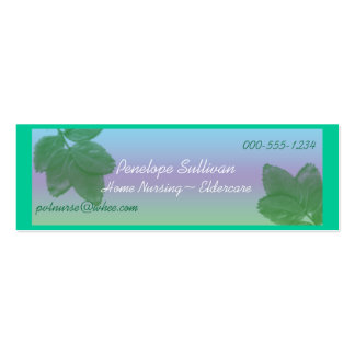 home nursing Double-Sided mini business cards (Pack of 20)