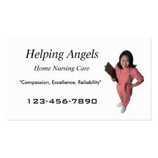 Home Nursing business card
