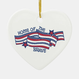 Home Of Brave Christmas Tree Ornaments