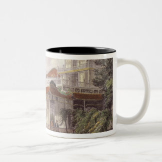 Home of a Chinese Merchant near Canton, from 'Chin Two-Tone Coffee Mug