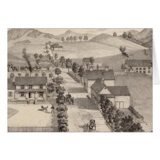 Home of Benjamin R Greeno in Rutland Greeting Card
