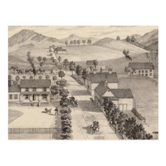Home of Benjamin R Greeno in Rutland Postcard