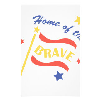 Home Of Brave Stationery