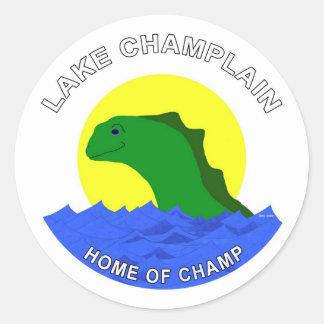 Home of Champ! Classic Round Sticker