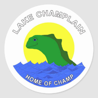 Home of Champ! Stickers