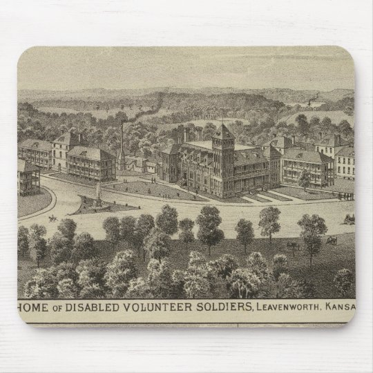 Home of Disabled Volunteer Soldiers Mouse Pad