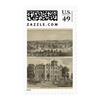 Home of Disabled Volunteer Soldiers Postage