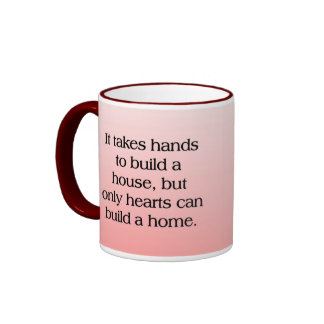 Home of Hearts Coffee Mug