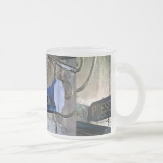 Home Of Jazz Frosted Glass Coffee Mug