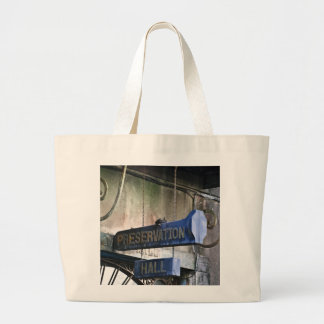 Home Of Jazz Large Tote Bag