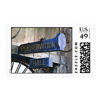 Home Of Jazz Postage Stamps