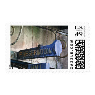 Home Of Jazz Postage Stamp