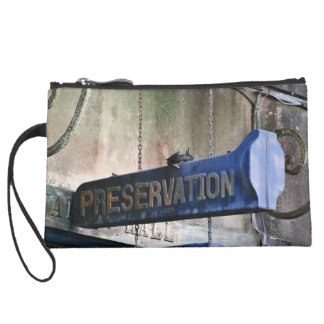 Home Of Jazz Suede Wristlet