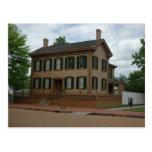 Home of Lincoln Postcard