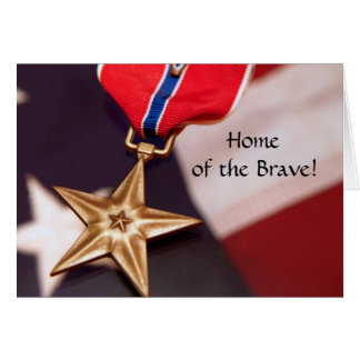 Home of the Brave! Card