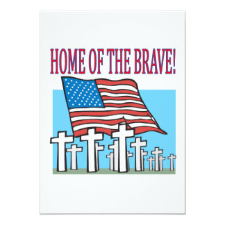 Home Of The Brave Card