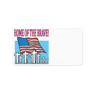 Home Of The Brave Label