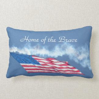 Home of the Brave Lumbar Pillow