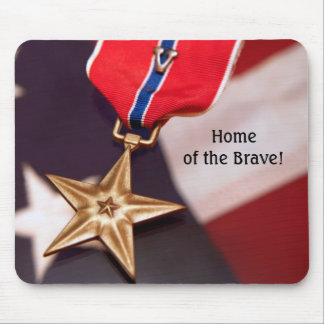 Home of the Brave! Mouse Pad