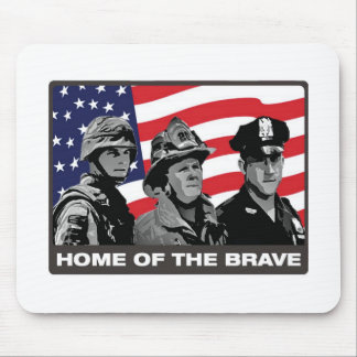 Home of the Brave Mouse Pad