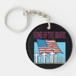 Home Of The Brave.png Acrylic Keychains