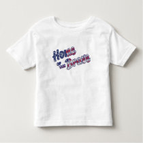 Home of the Brave toddler t-shirt