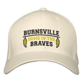 Home Of The Braves Embroidered Baseball Hat