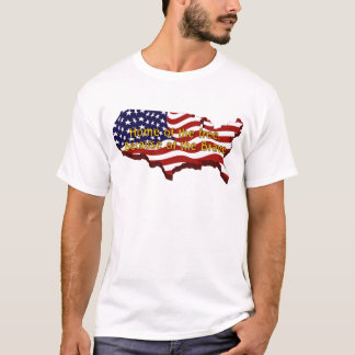 Home of the free, Because of the Brave T-Shirt